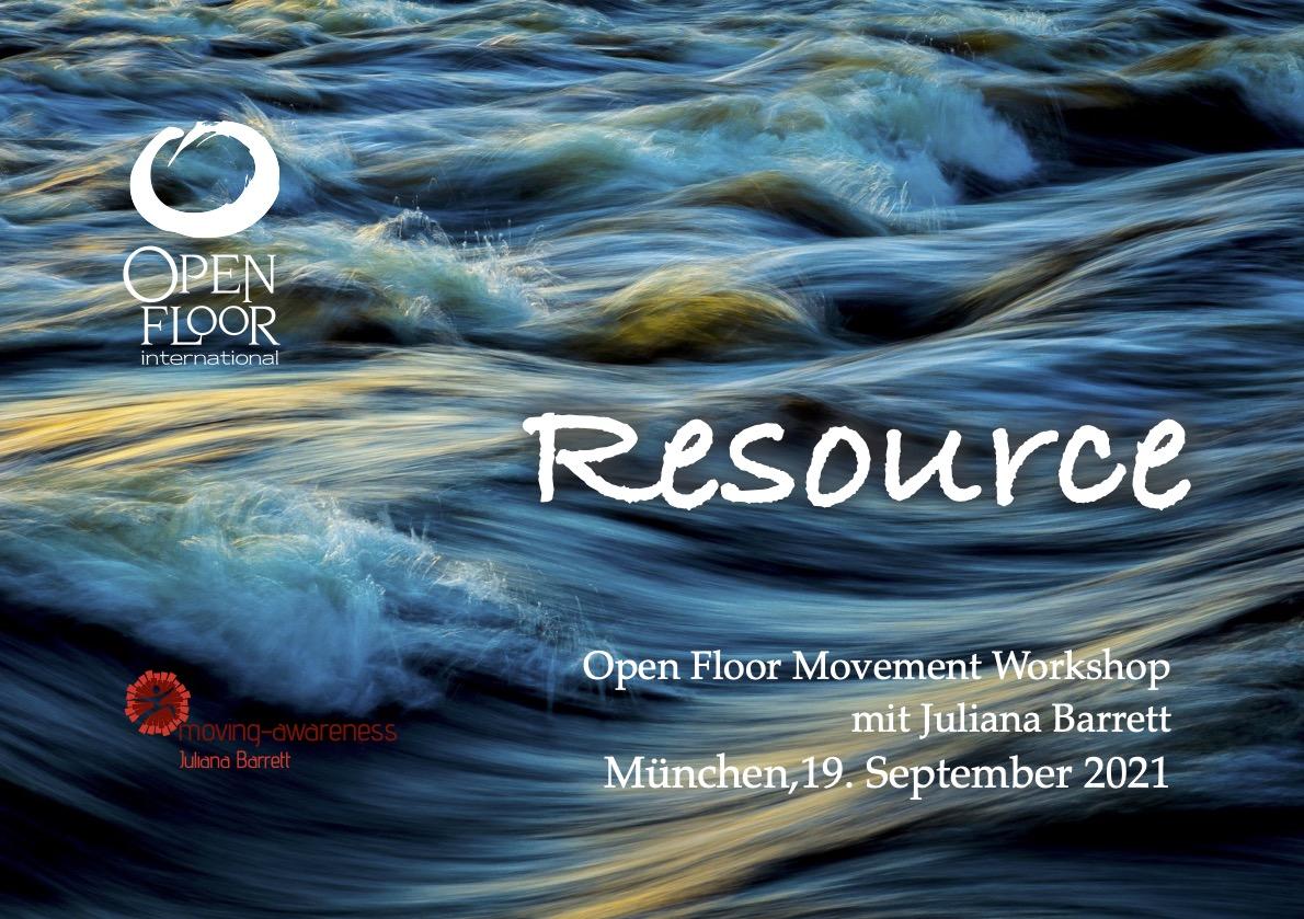 Open Floor Workshop 'Resource'