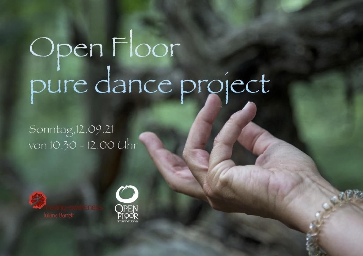 Open Floor pure dance project